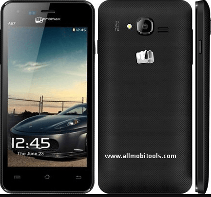 Micromax A67 Firmware