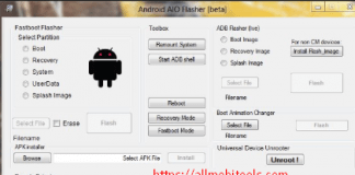 Download Universal Android aio Flasher
