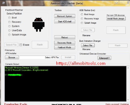 Download Universal Android aio Flasher Toolkit v1.40 Beta Latest Version 2018