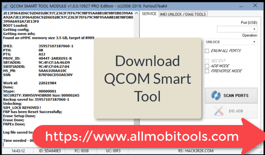 FuriousGold QCOM SMART TOOL Latest version (2020) Free Download