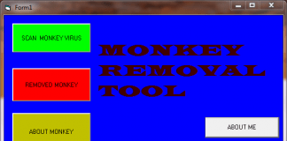 Monkey Virus Removal Tool