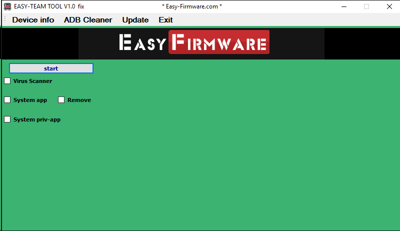 Easy Firmware Tools Latest Version v2.0.0.10 Full Setup Free Download