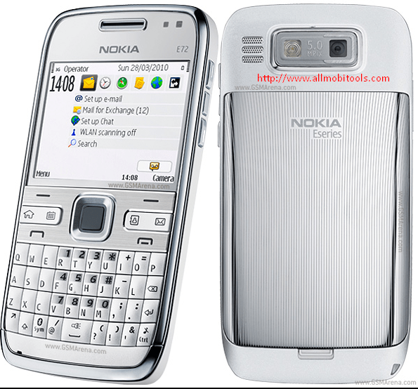 Nokia E72 Flash File