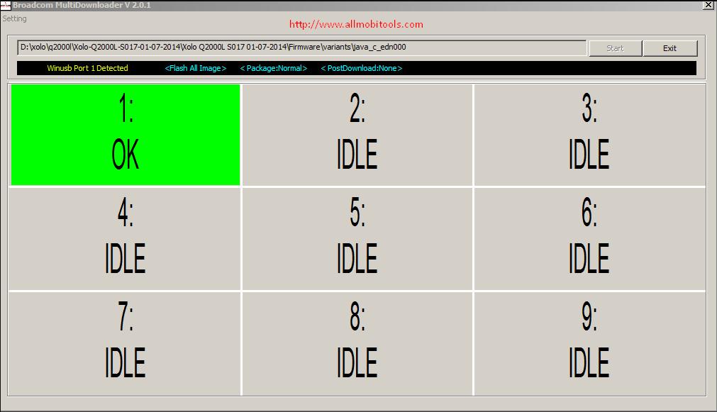 Broadcom Multi Downloader