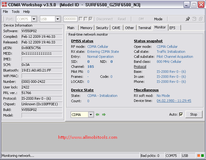 CDMA Workshop DFS Software v3.9.0 Full Version Cracked Download For Windows