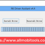 RockChip (RK) Driver Assistant Screenshot
