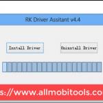RockChip (RK) Driver Assistant Screenshot