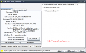 Download MTK Droid Root & Tools