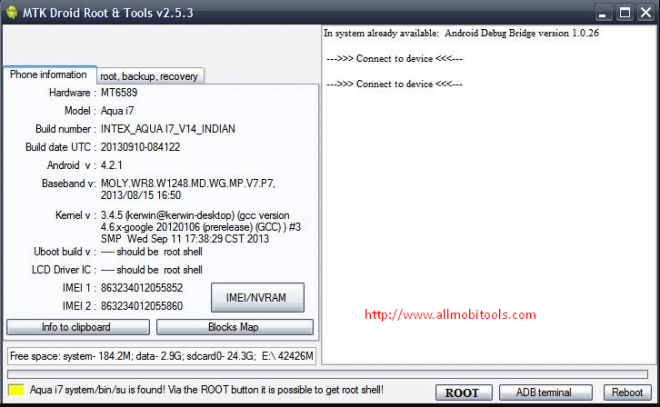 Download MTK Droid Root & Tools v2.5.3 Latest Version