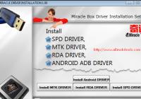 Miracle Box Driver Installation