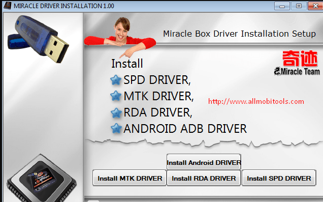 Miracle Box Driver Installation v1.00 Free Download For Windows