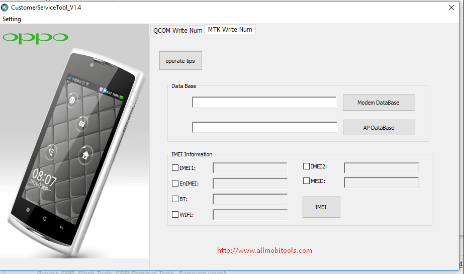 Oppo Service Tool