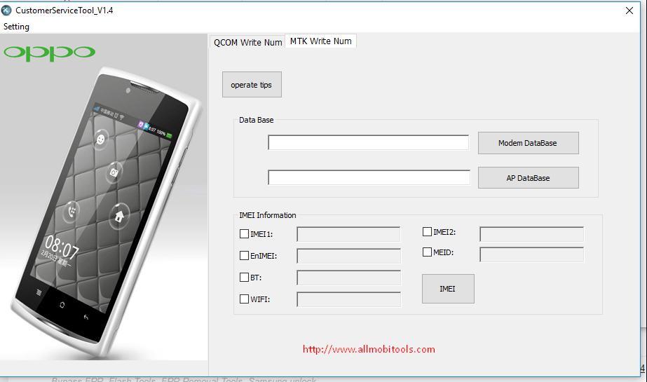 Oppo Customer Service Tool