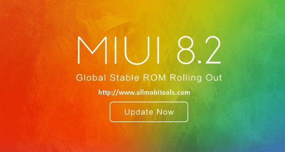 MIUI 8 Global Stable ROM V8.2.12.0
