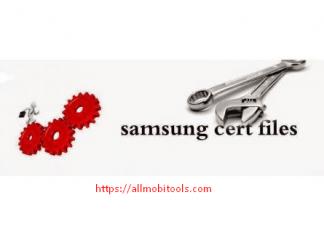 Download All Samsung Cert (Certificate) Files