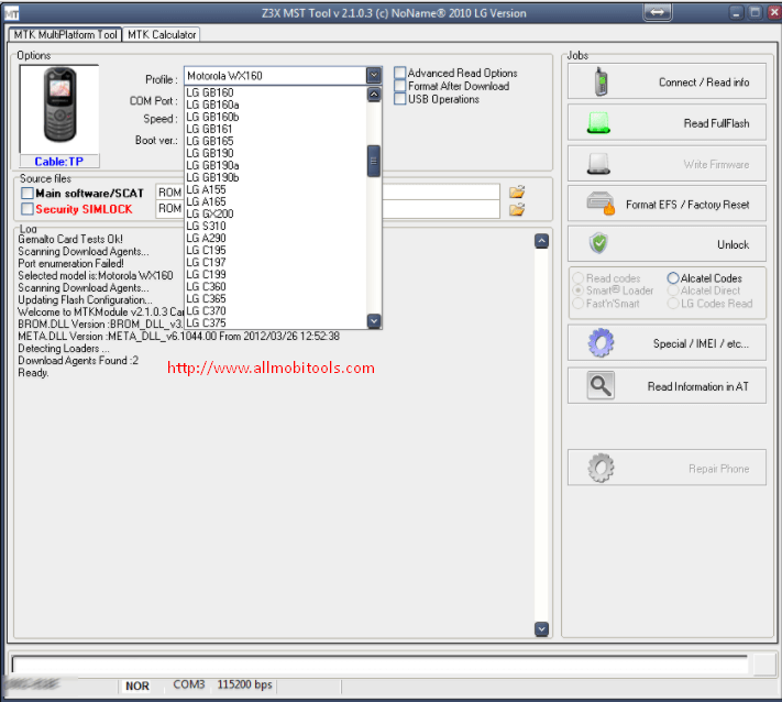 Z3z LG 2G-3G Tool