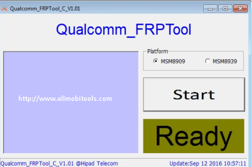 Qualcomm FRP Unlock/Remove/Bypass Tool 2018 Free Download