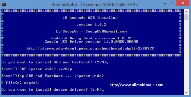 ADB Sideload: Download ADB, Fastboot and Drivers For Windows
