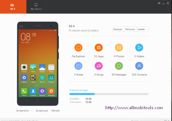 Download Xiaomi Mi PC Suite v2.2.0.7032 Latest Version For Windows