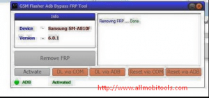 Download GSM Flasher ADB Bypass FRP Tool