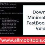 Minimal ADB and FastBoot Screenshot