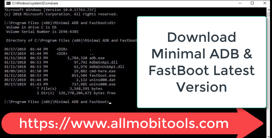 Download Minimal ADB and FastBoot v1.4.3 ZIP For Windows PC