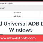 Download Universal Android ADB Drivers