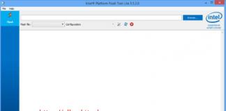 Download Intel Phone Flash Tool