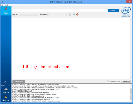Download Intel Phone Flash Tool v5.5.2.0 Latest Version