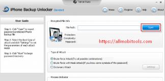 Download Tenorshare iPhone Backup Unlocker