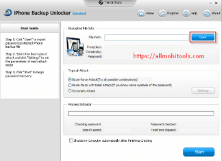 Download Tenorshare iPhone Backup Unlocker