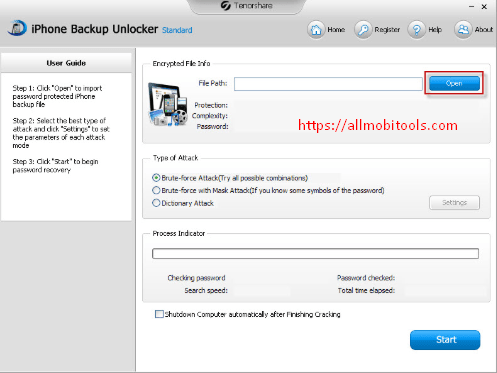 Download Tenorshare iPhone Backup Unlocker For Windows & Mac