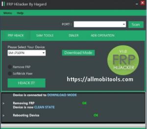 Samsung FRP Unlock/Bypass Tool