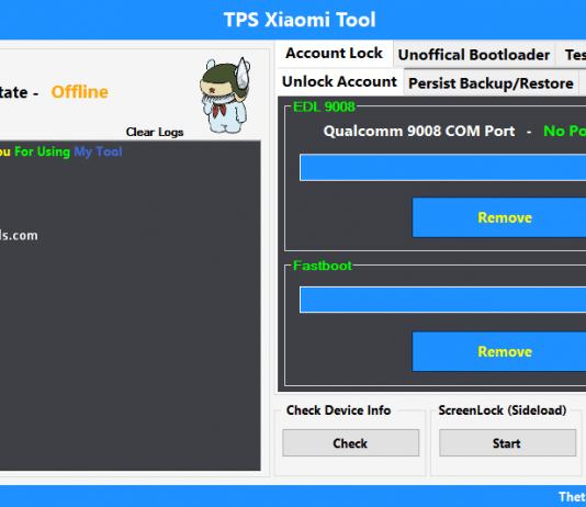 Download TPS Xiaomi Tool