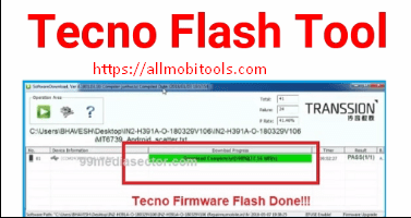 Download Tecno Flash Tool v4 1808 28 17 By GD_Mekail92 Latest