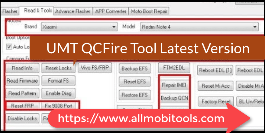 Download Ultimate Multi Tool (UMT) QcFire (2020) Latest Setup