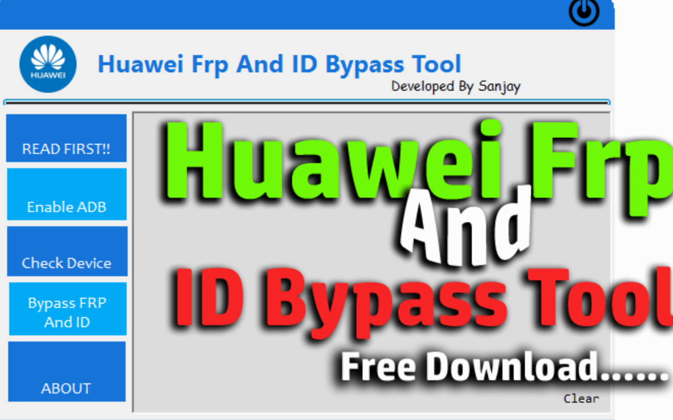 Download Huawei FRP Unlock & ID Bypass Tool (2019) Latest Version