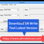Download MTK imei Sn Write Tool