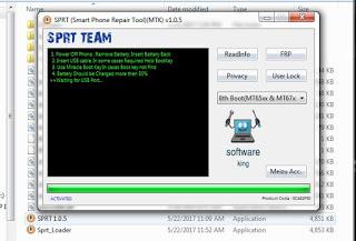Download SPRT (MTK FRP Unlock Tool) v1.0.5 Latest Version
