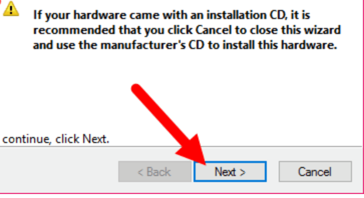 Install Android CDC Driver Manually