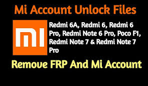 Xiaomi Mi Account & FRP Remove Files List (2019)