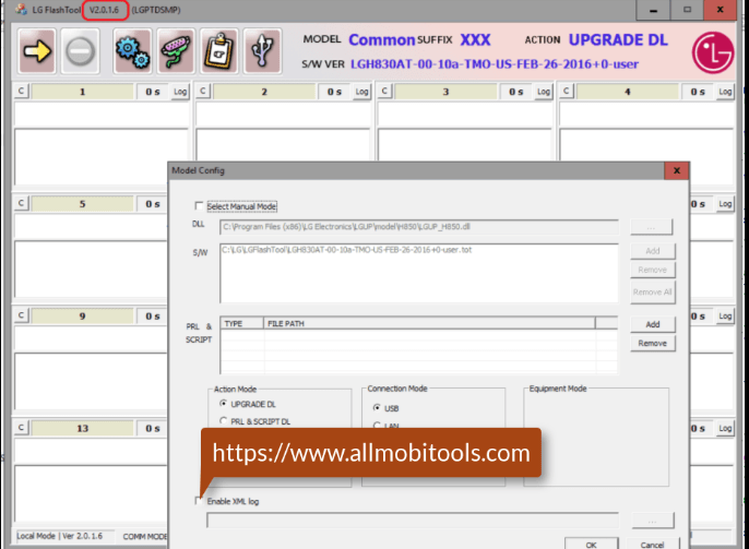 LG Flash Tool (2020) All Versions and LGUP Tool Free Download