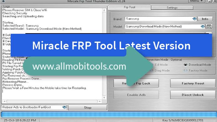 Miracle FRP Tool Setup